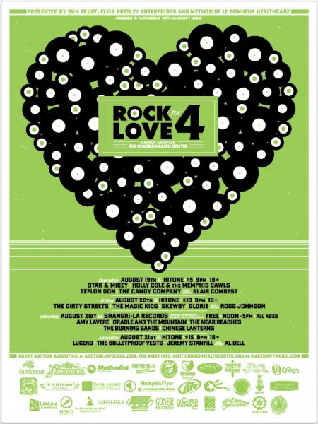 Rock for Love poster
