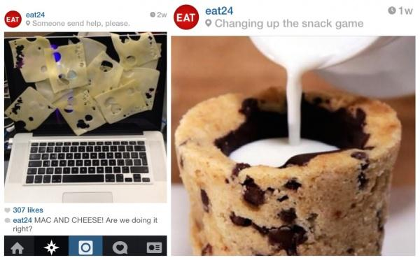 Eat24 instagram