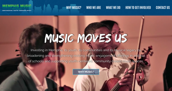 Memphis Music Initiative Site Launch