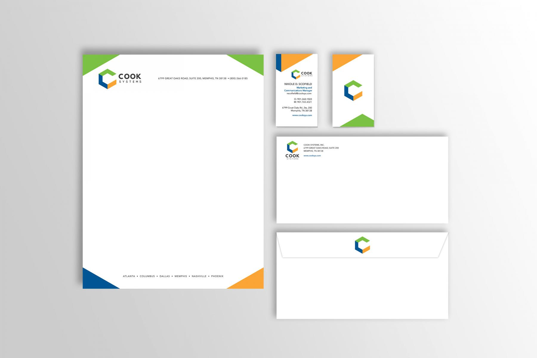 Results - Branding 1 - Stationery Overview