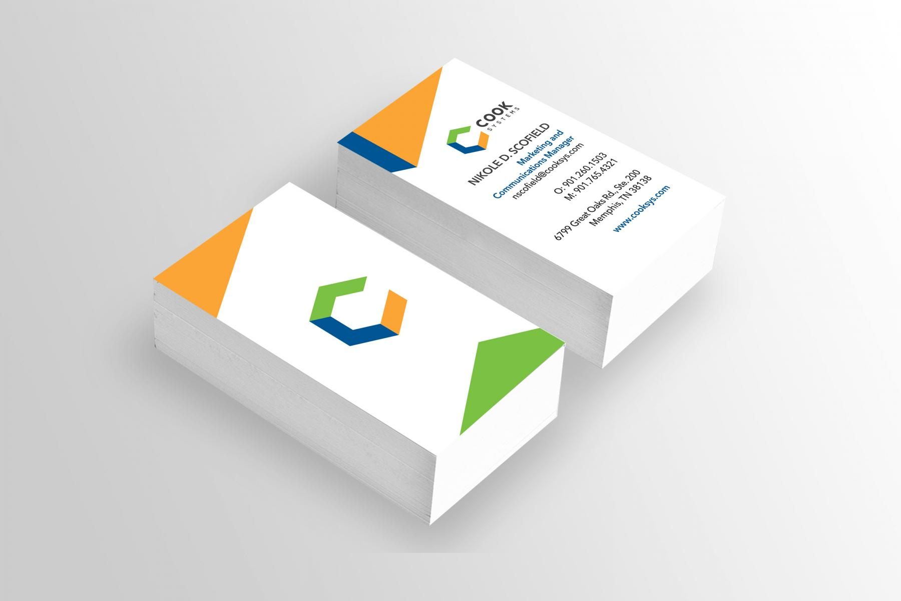 Results - Branding 1 - Business Cards